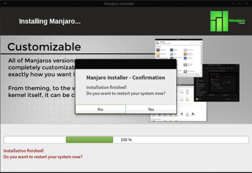manjaro installation tutorial 9