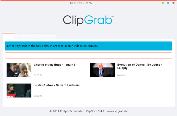 install clipgrab on linux lite