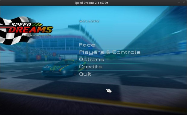 speed dreams racing screenshot 1