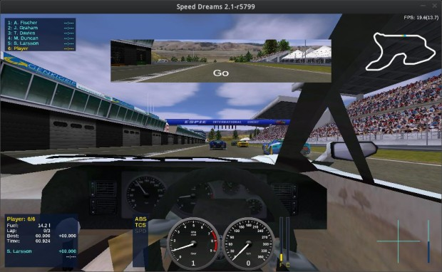 speed dreams racing screenshots 3