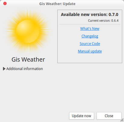 gis weather 0.7.0