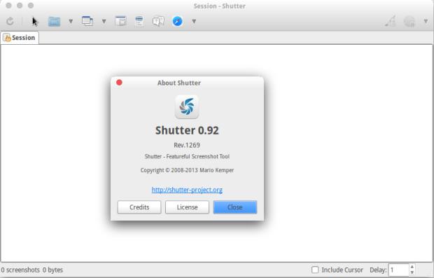 shutter 0.92 ubuntu