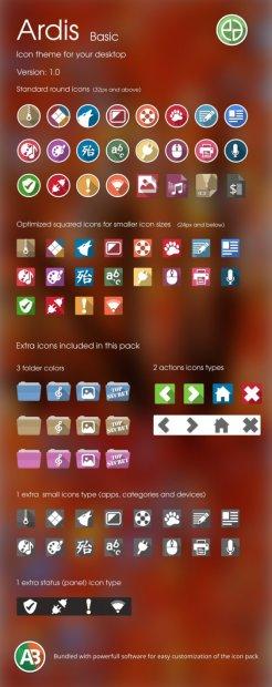 ardis basic icon theme