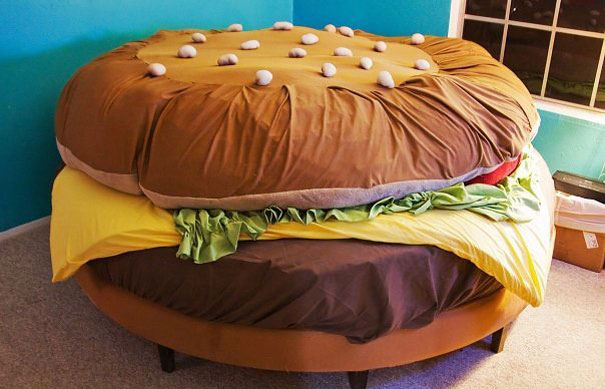 beds hamburger
