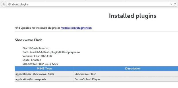 install flash plugin fedora 21 3