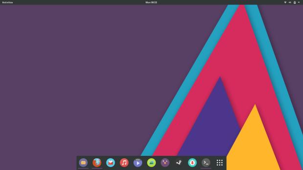 KyvaithOS default desktop