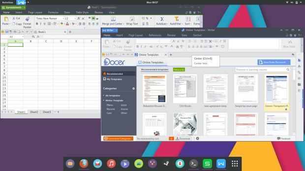 Office apps on KyvaithOS