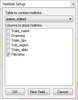 create document link on mapinfo