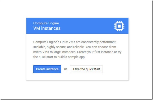 create new vm instance on google cloud platform 1