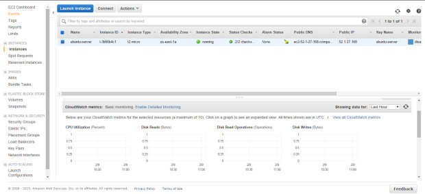 aws new instance