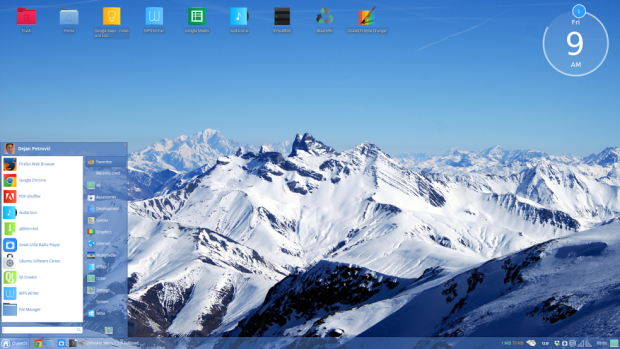 chaletos linux screenshot