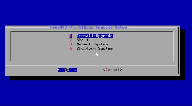 freenas 9.3 installation