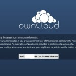 How to add trusted domain to Owncloud instance