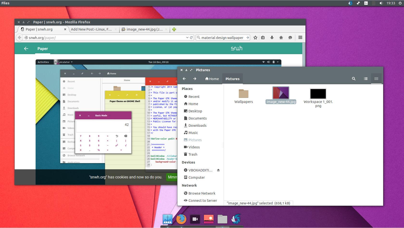 Delightful Ubuntu 14.04 Material Design 2