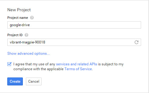 how to integrage google drive on owncloud 1
