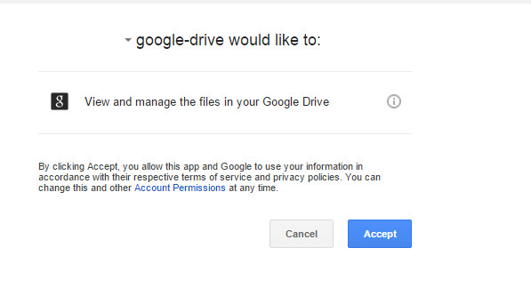 how to integrage google drive on owncloud 10