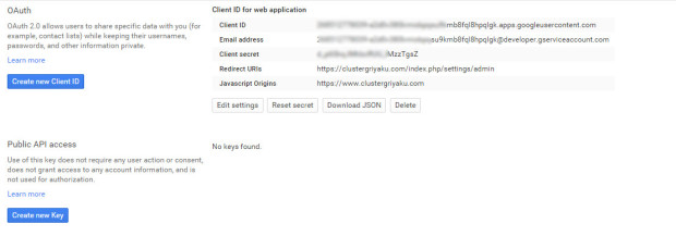 how to integrage google drive on owncloud 8