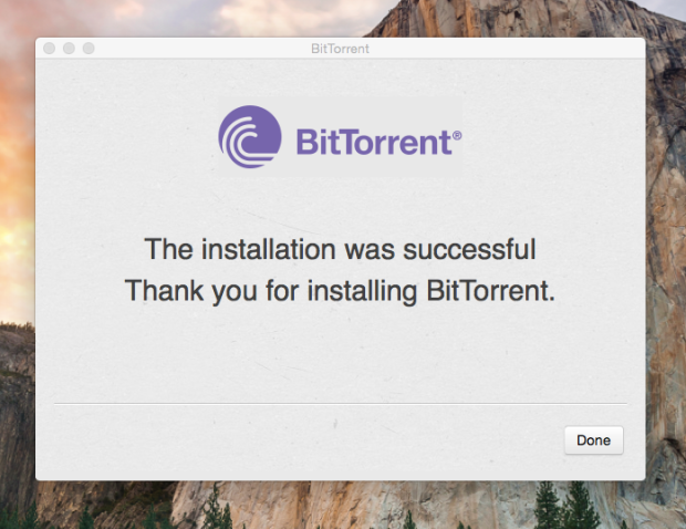 install bittorrent on mac 5