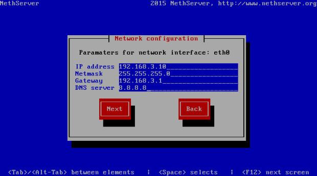 nethserver install 6