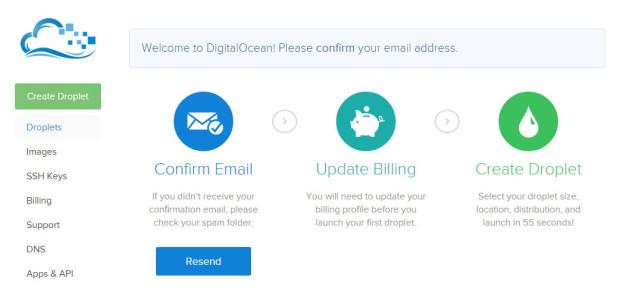 signup digital ocean 2