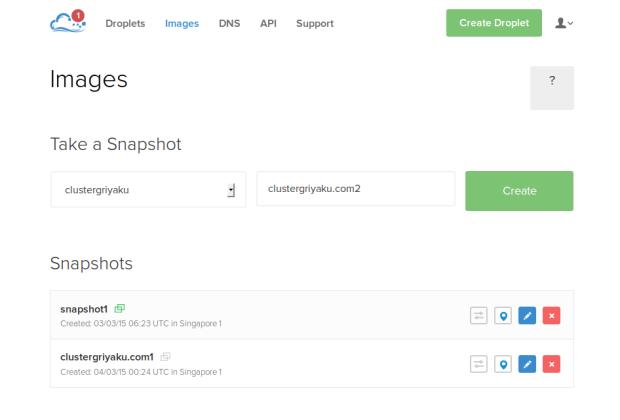 create snapshot 1