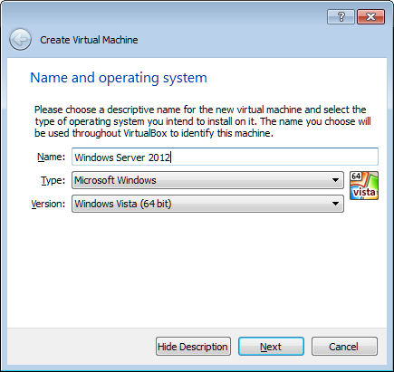 windows server on virtualbox 1