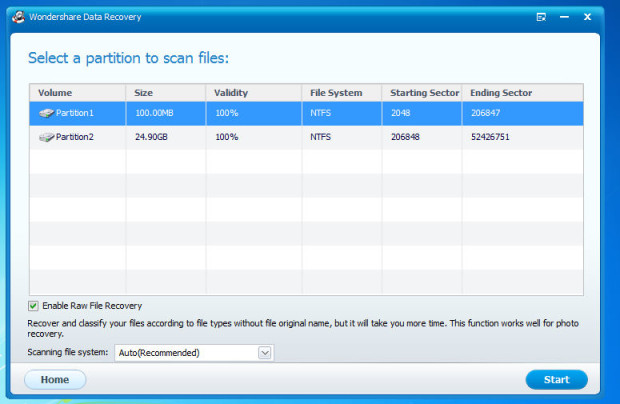 wondershare partition recovery 3