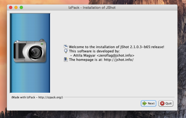 jshot install 1