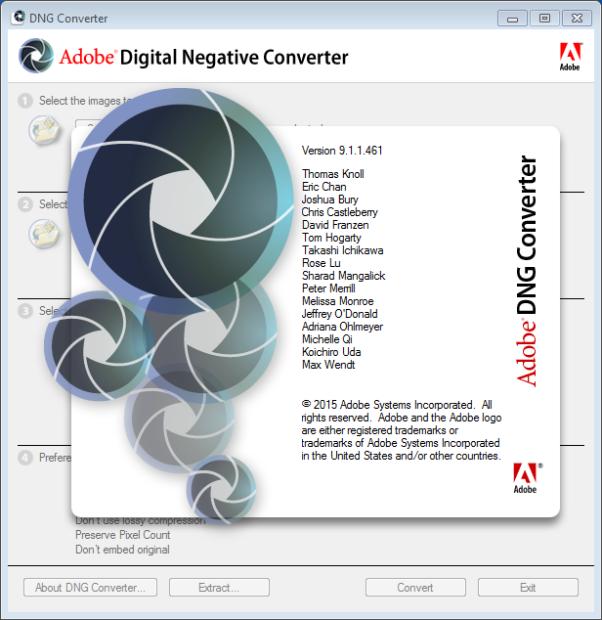 adobe digital negative converter full version