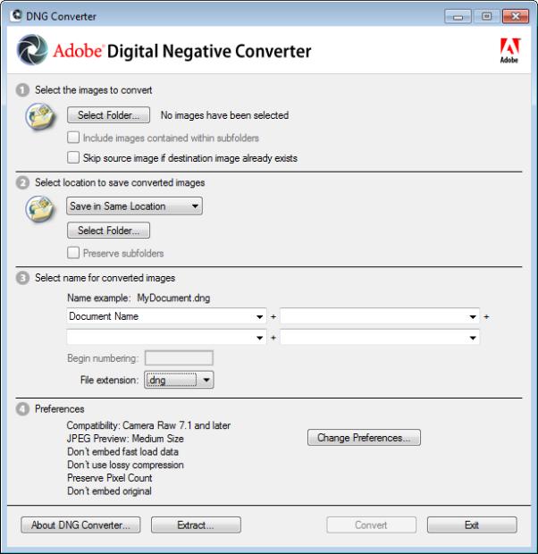 adobe digital negative converter full version download