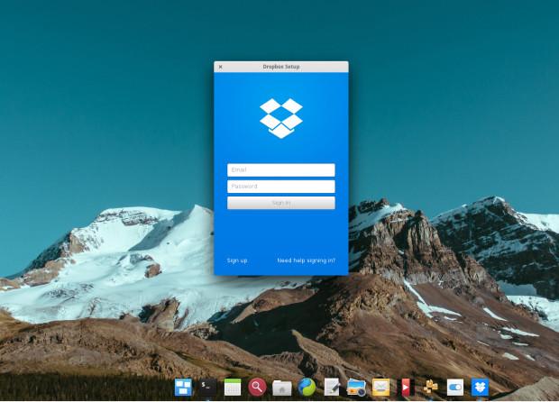 dropbox in manjaro 0.8.13