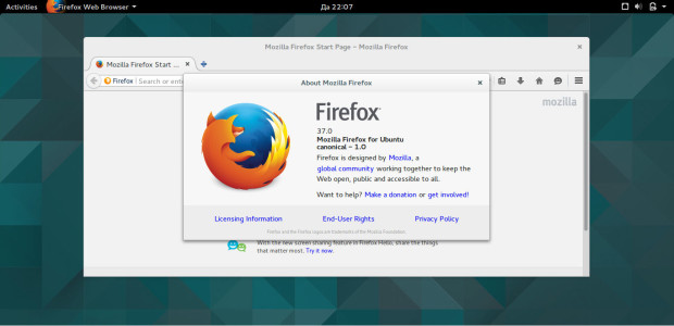 firefox 37 on ubuntu gnome 15.04