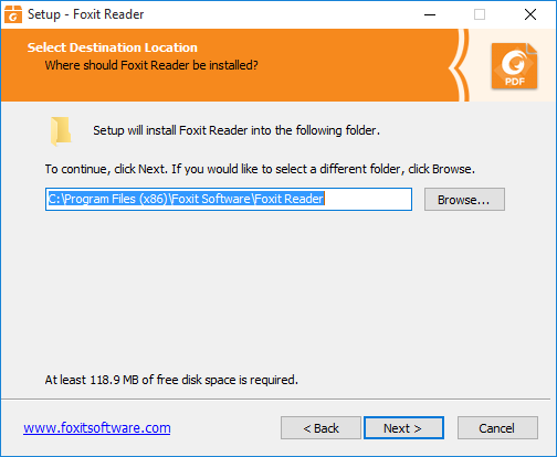 install foxit on windows 10