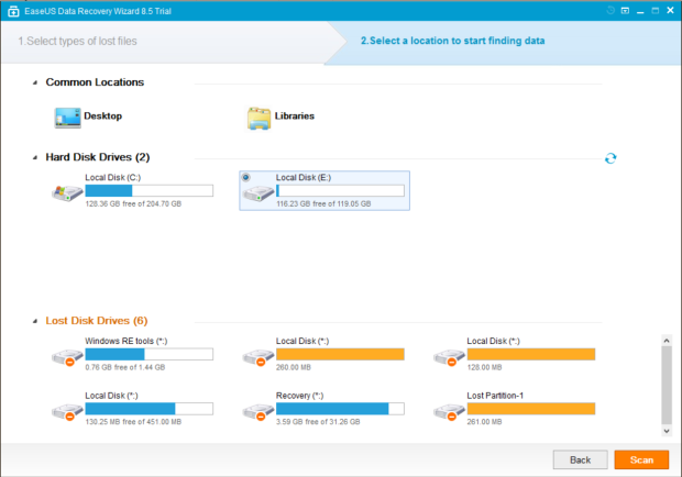 easeus data recovery wizard 9 full version 2
