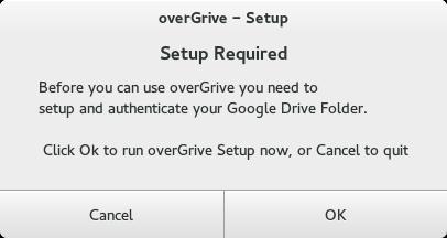 overgrive install fedora 1