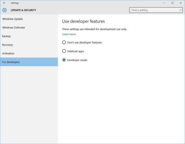 windows 10 settings 2