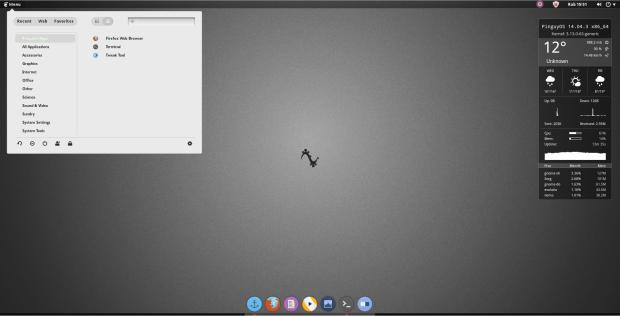 PinguyOS 14.04 desktop 2