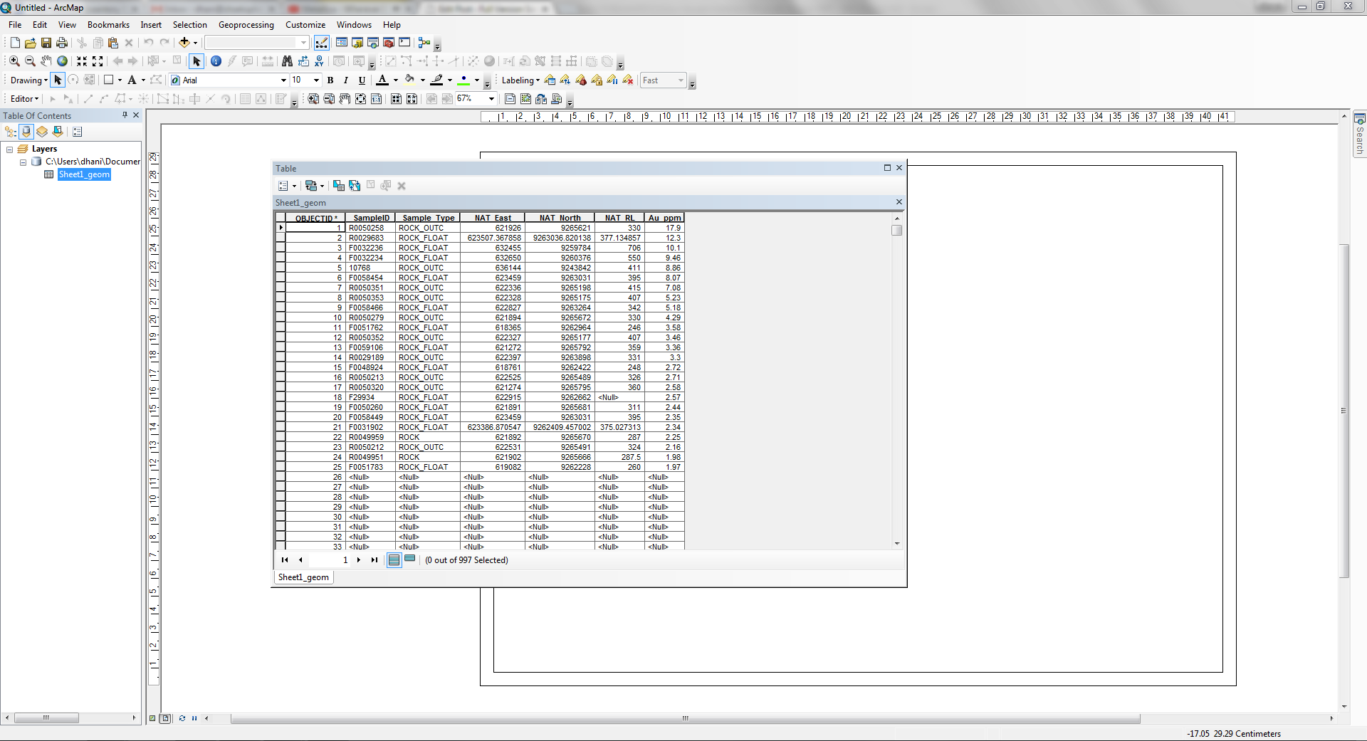 How to import Microsoft Excel data to ArcGIS 10.2