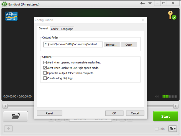 bandicut video cutter 1.3.1 screenshot 3