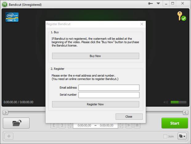 bandicut video cutter 1.3.1 screenshot 4