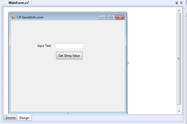 c# tutorial-string value 1