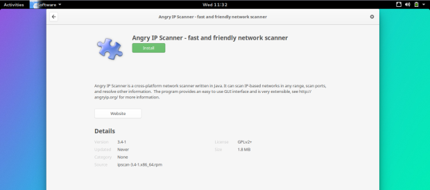 install angry ip scanner fedora