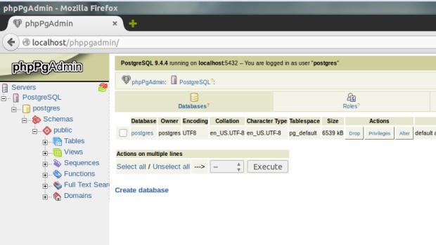 install phppgadmin on ubuntu