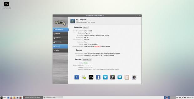 linux lite 2.6 screenshot 2