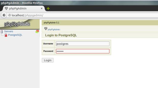 phppgadmin on ubuntu