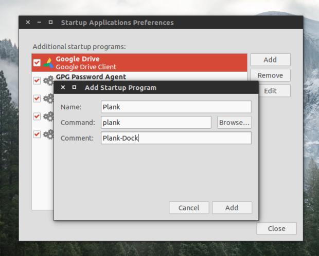 ubuntu startup program 1