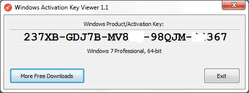windows activation key viewer