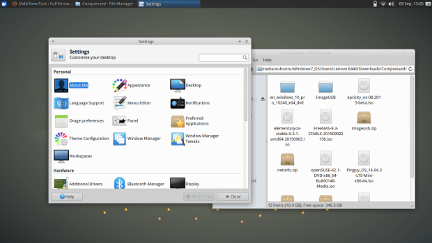 xubuntu 15.10 screenshot 4