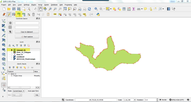 create shapefile on qgis 3