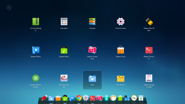 deepin 15 screenshot 2